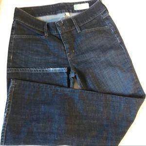 Gap Curvy Size 8 stretch Preowned flare leg dark